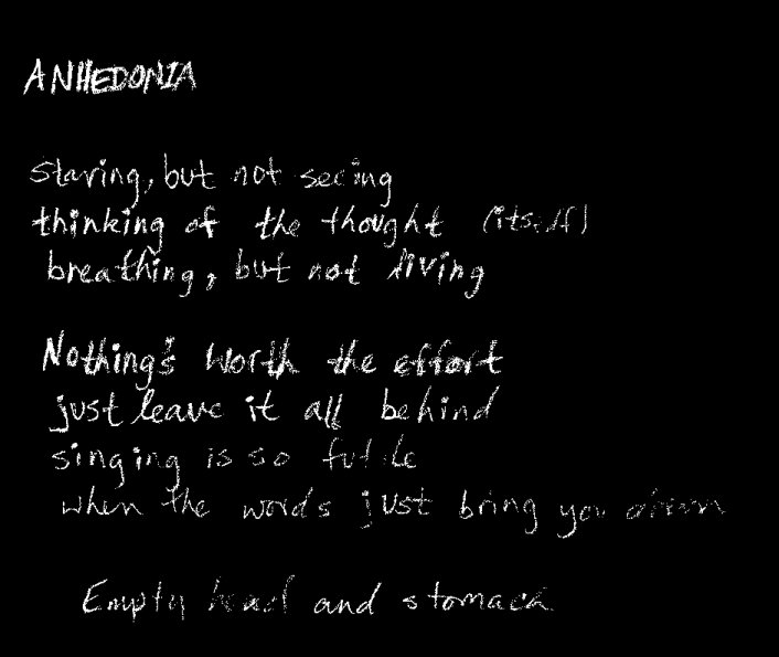 anhedonia meaning